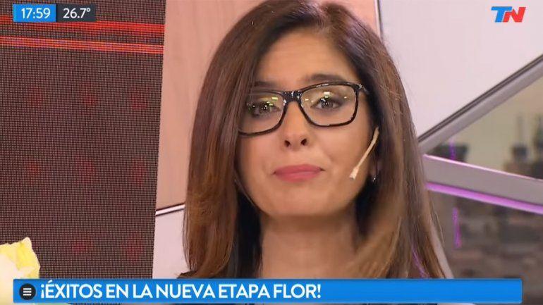 Florencia Etcheves se despidió de TN