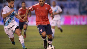 Silvio Romero, el refuerzo estrella, será titular en Independiente.