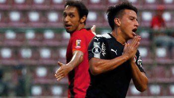 Independiente no tuvo las ideas claras para poder vulnerar al equipo local y remontar el partido.