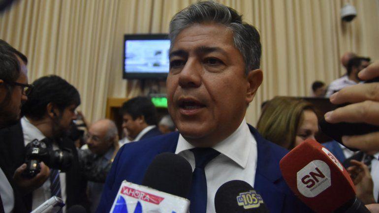 Rolando Figueroa baja el perfil y evita hablar de candidaturas
