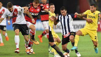 Libertadores: la localía ya pesa  en grupos parejos