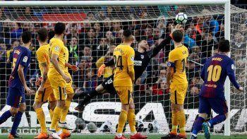 Messi metió un golazo