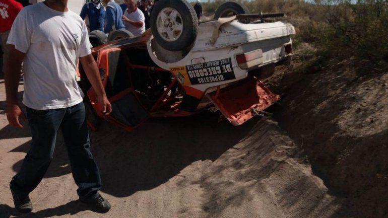 Tragedia en el rally regional: volcó y murió un piloto de Cervantes