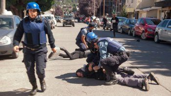 Jones Huala: al menos 20 personas detenidas tras los incidentes