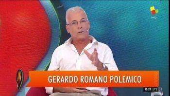 Gerardo Romano se inmoló por Darthés: El actor en una escena sexual tiene derecho a meter la lengua