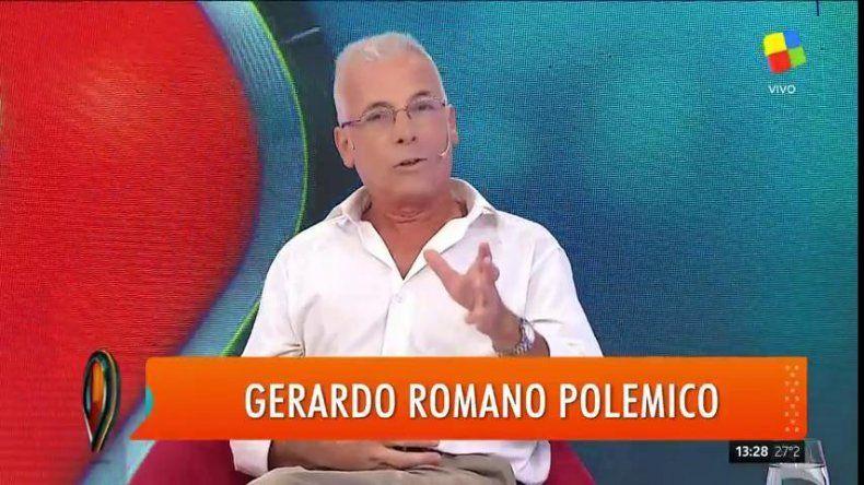 Romano polémico: El actor en una escena sexual tiene derecho a meter la lengua