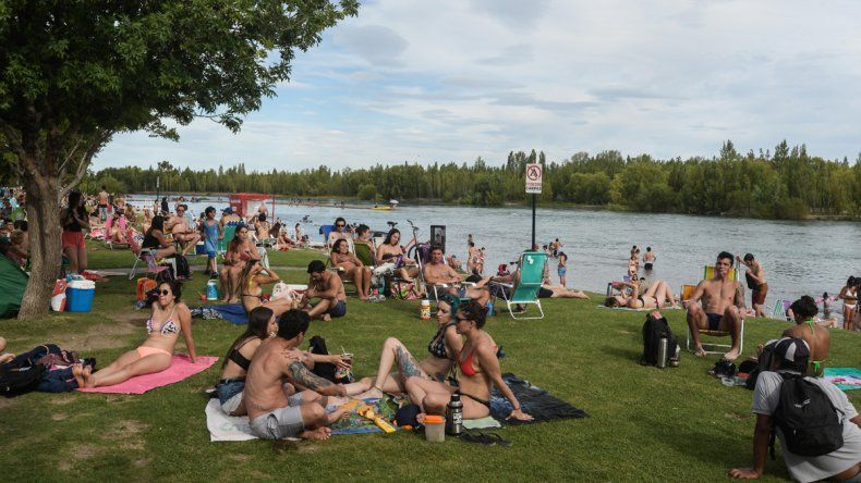 Hubo más de 30 mil personas en los balnearios