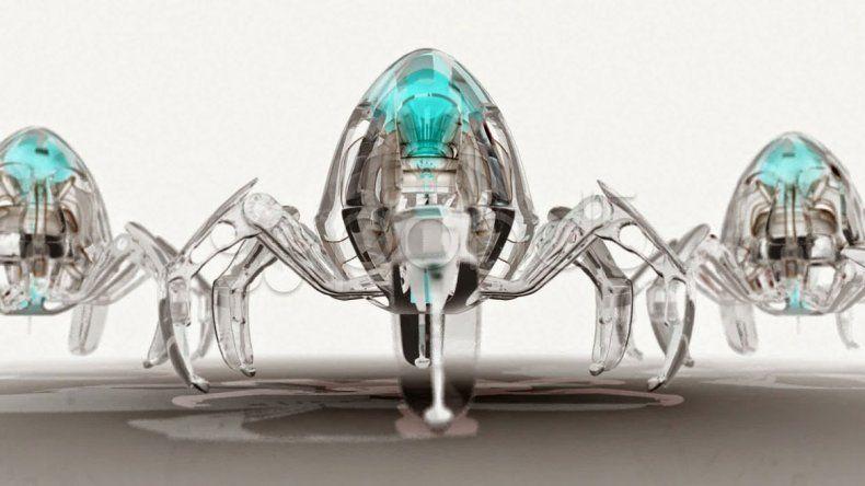 Un nanorrobot es unas cinco mil veces más chico que la punta de una aguja.