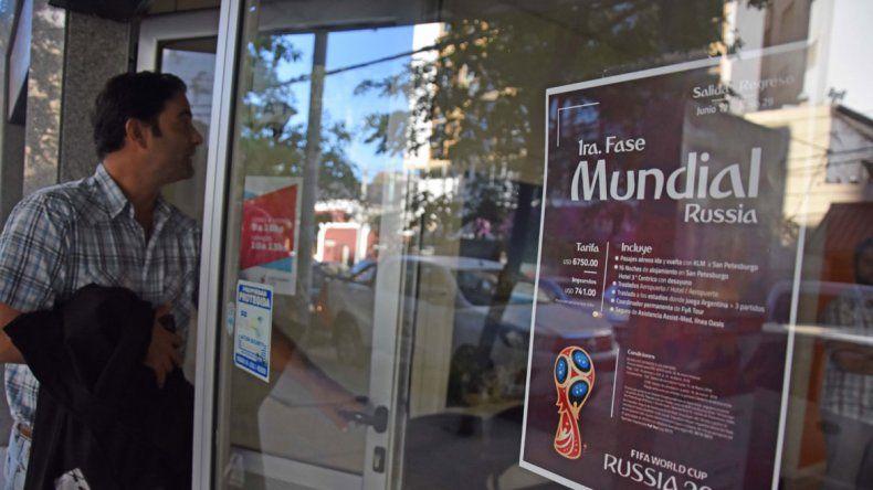 Cuestan 30% más caros los paquetes para ir al Mundial