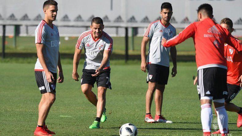 River entrenó con normalidad tras la igualdad con Chaca y ya piensa en lo que viene: Patronato y después Boca.