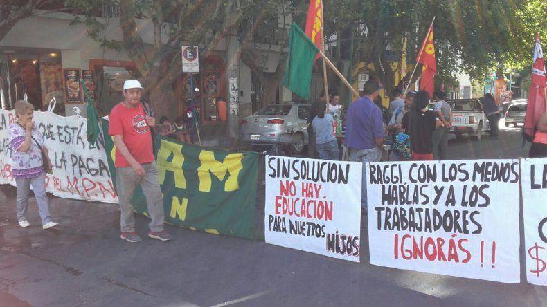 Ex trabajadores de MAM reclaman una audiencia con el ministro de Producción