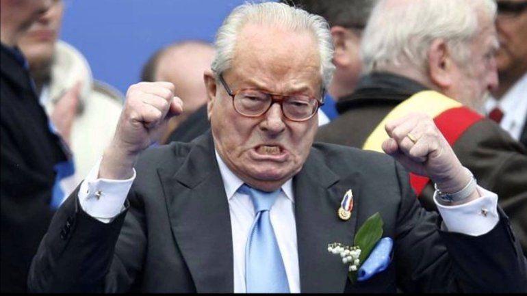 Jean-Marie Le Pen publicó un polémico libro con sus memorias.