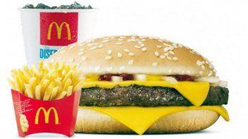 McDonalds cambió la receta de su famoso cuarto de libra