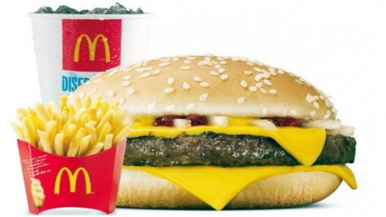 ¿Nuevo sabor? McDonalds cambió la receta de su famoso cuarto de libra