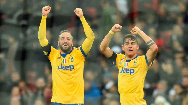 Juventus le ganó 2-1 de visitante al Tottenham y está en los cuartos.