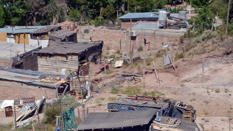 Hay varios barrios que no se regularizaron en Neuquén.