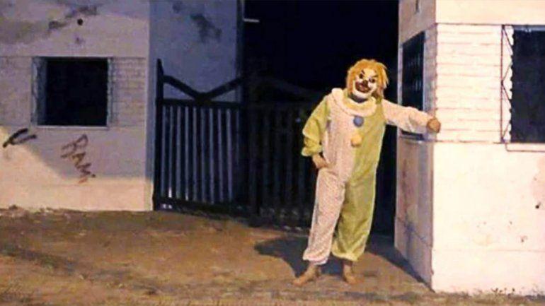 Detuvieron a un misterioso payaso asustador en Buenos Aires