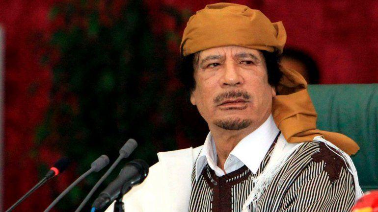 Los bienes del ex dictador libio estaban congelados por la ONU.