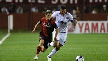 El volante Joaquín Torres y el delantero Daniel Opazo, dos cracks de estos pagos que juegan en la Lepra.