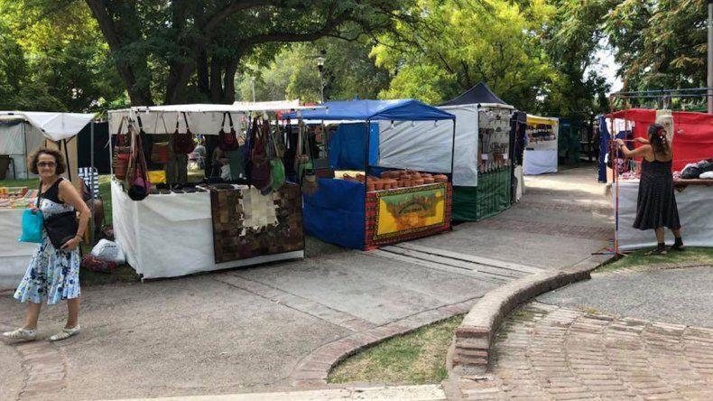Hasta el domingo se puede recorrer La Pergolita en el Parque Central