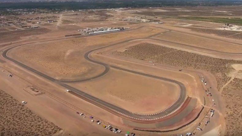 Mirá desde el aire cómo está listo el circuito de Centenario