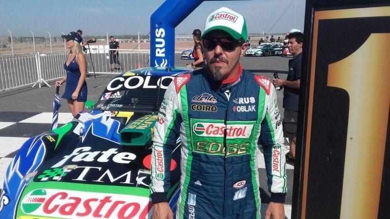 Mazzacane fue el más rápido y se quedó con la pole provisoria