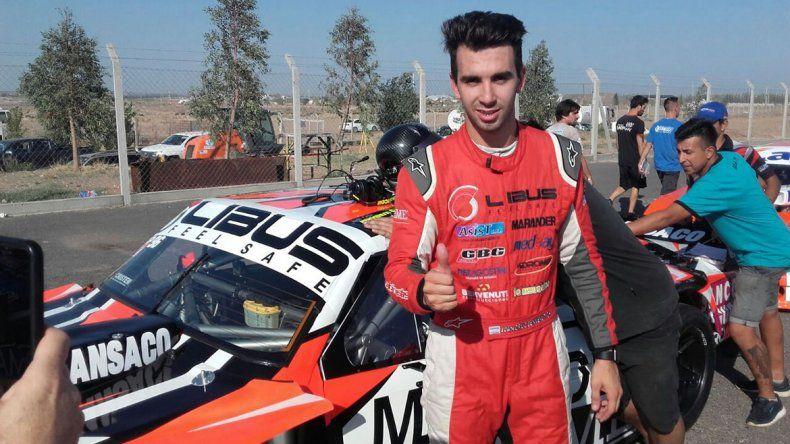 Por una milésima, Benvenutti se quedó con la pole provisoria en el TC Pista