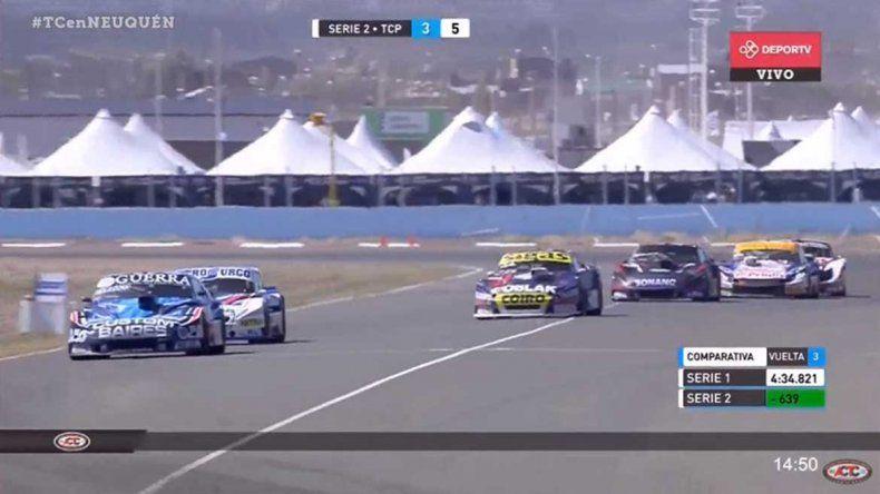 El Dodge de Vázquez se quedó con la pole en el TC Pista