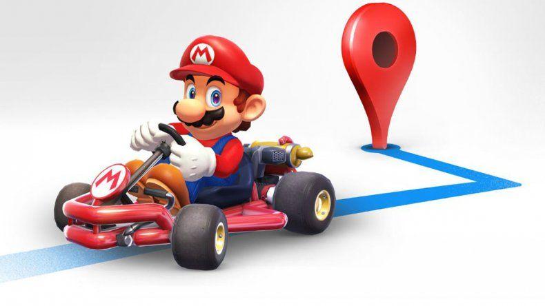 Podrás recorrer Google Maps sobre un Mario Kart