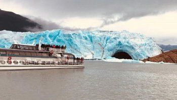Mirá en vivo el espectacular rompimiento del glaciar