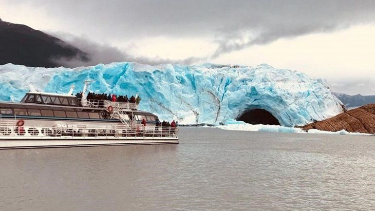 Seguí en vivo el espectacular rompimiento del glaciar Perito Moreno