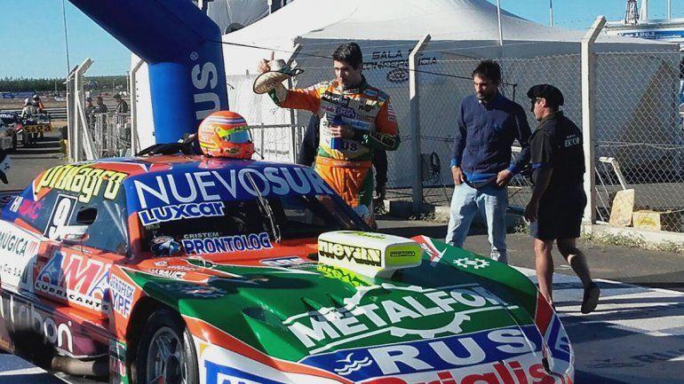 Jonatan Castellano ganó la segunda serie con un gran tiempo