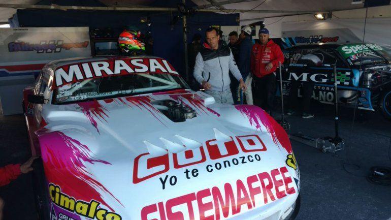 El auto de Camilo antes de la segunda serie del TC.