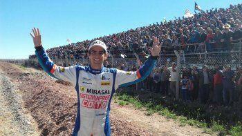 Camilo agradeció el apoyo a los fanáticos neuquinos
