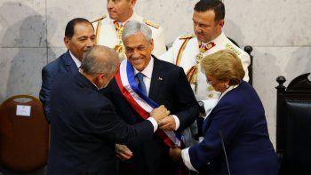Sebastián Piñera juró como presidente de Chile