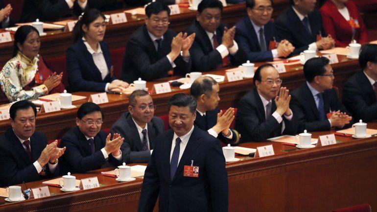 La Asamblea Nacional Popular china le permitió una presidencia indefinida.