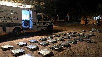 La droga incautada venía de Paraguay en dos camiones. Desde Formosa la transportaban en una camioneta.