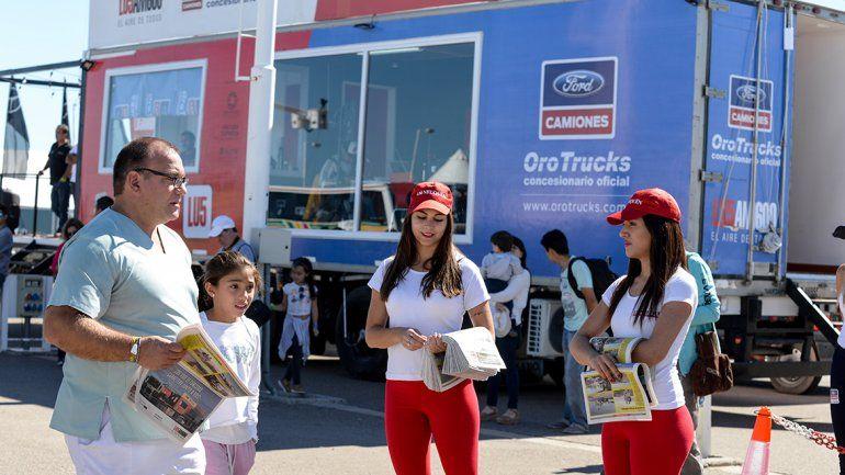 La fiesta del TC en el autódromo de Centenario