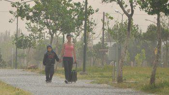 se esperan dias con calor, viento e inestabilidad en la region