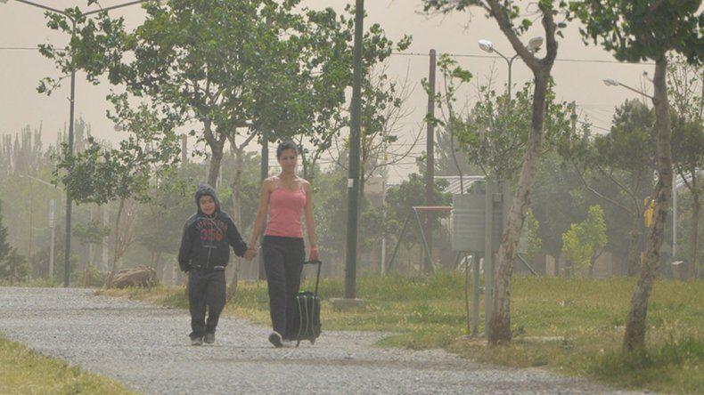 Se esperan días con calor y viento en la región
