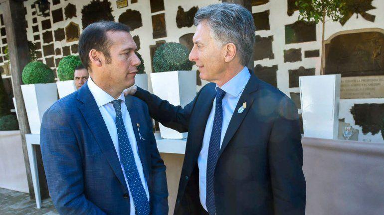 Omar Gutiérrez mantiene una alianza estratégica con Mauricio Macri.