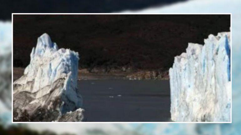 Se rompió el puente de hielo del glaciar Perito Moreno