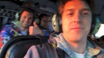 como fueron los momentos previos a la caida mortal del helicoptero