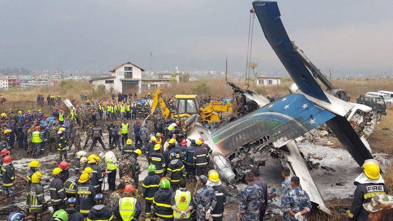 En la aeronave de US-Bangla Airlines viajaban 67 pasajeros y 4 tripulantes.