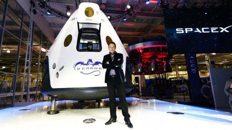 El millonario probará el próximo año sus naves interplanetarias.