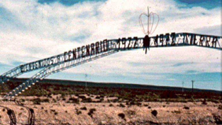El viejo arco de Centenario surgió de una idea sindical