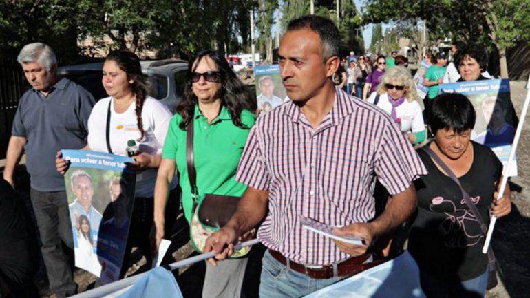 El concejal de Unidad Ciudadana hace reuniones periódicas en los barrios.