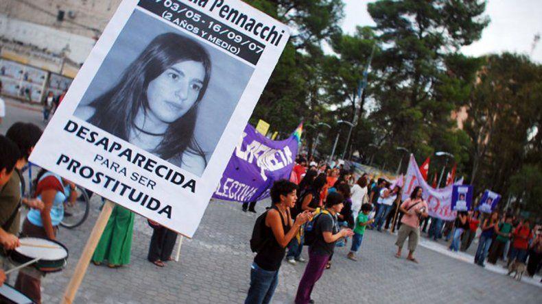 Marchan en Neuquén a 13 años de la desaparición de Florencia Pennacchi