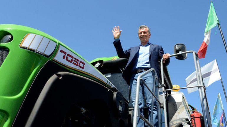 Macri respaldó a los productores agrícolas: No están solos