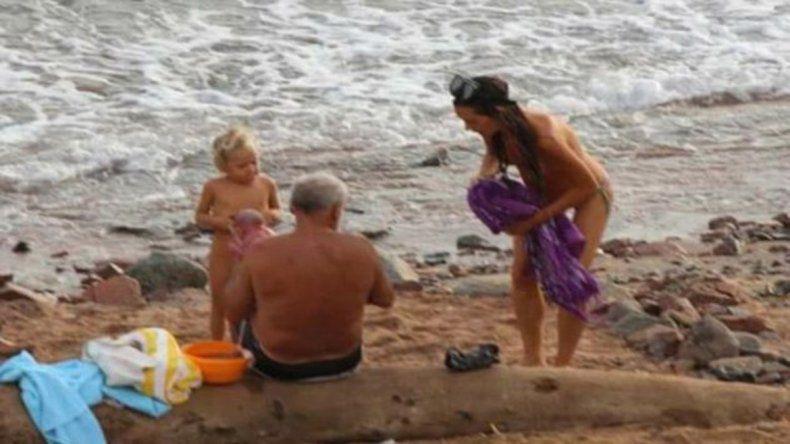 Una turista rusa dio a luz en el mar y se viralizaron las imágenes